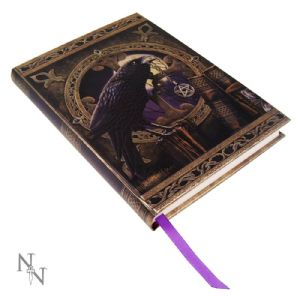 Journal~ Lisa Parker Blank Journal Diary Embossed Talisman~ By Folio Gothic Hippy B0147A3